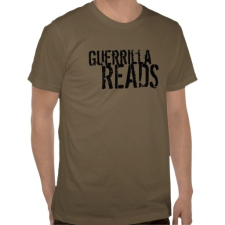 GuerrillaReads T-shirt