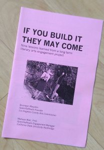If You Build it They May Come - zine